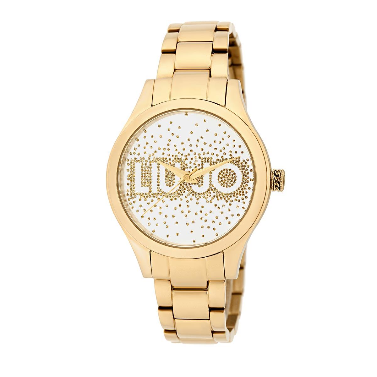 LIU JO Rainfall IP Gold 36mm