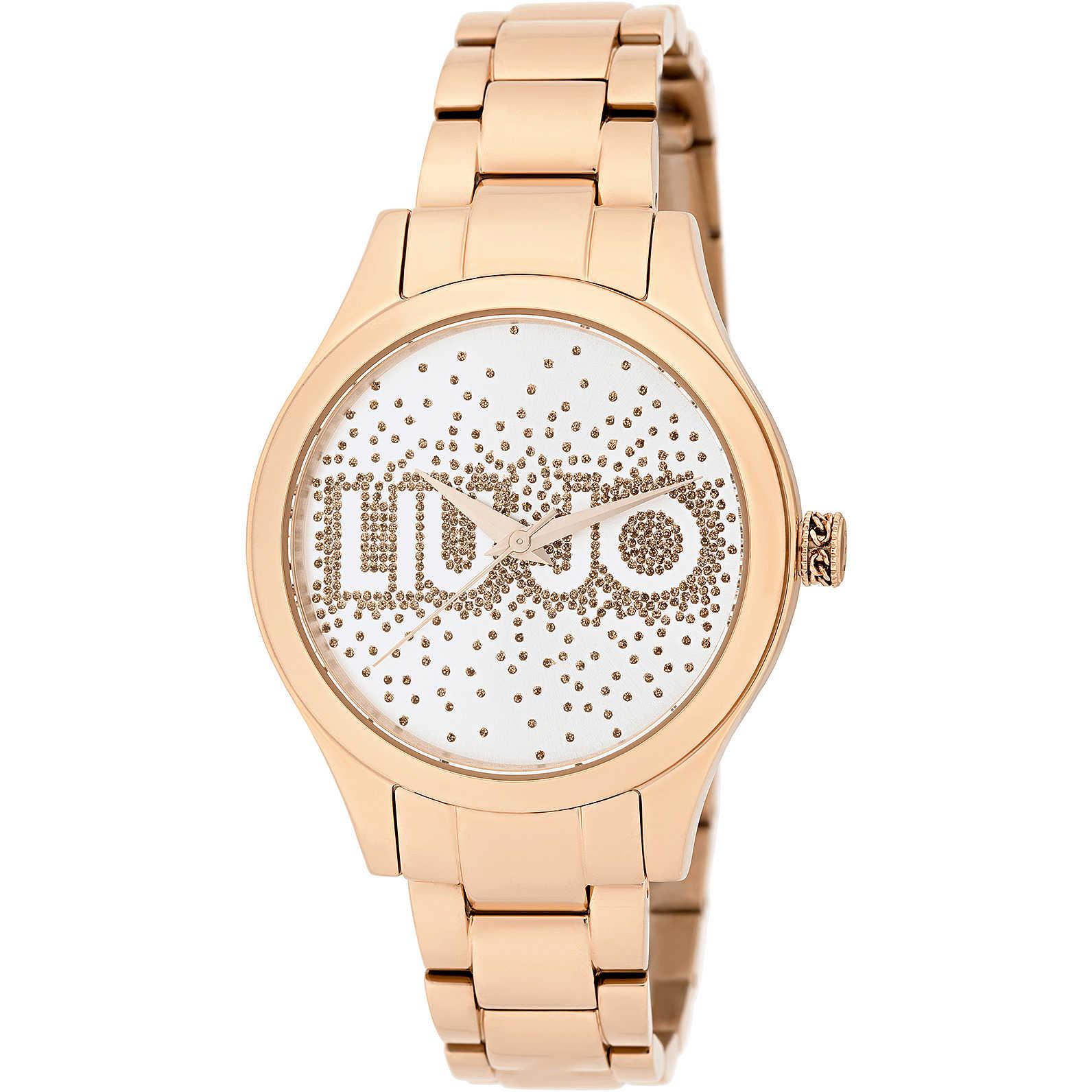 LIU JO Rainfall IP Rose Gold 36mm