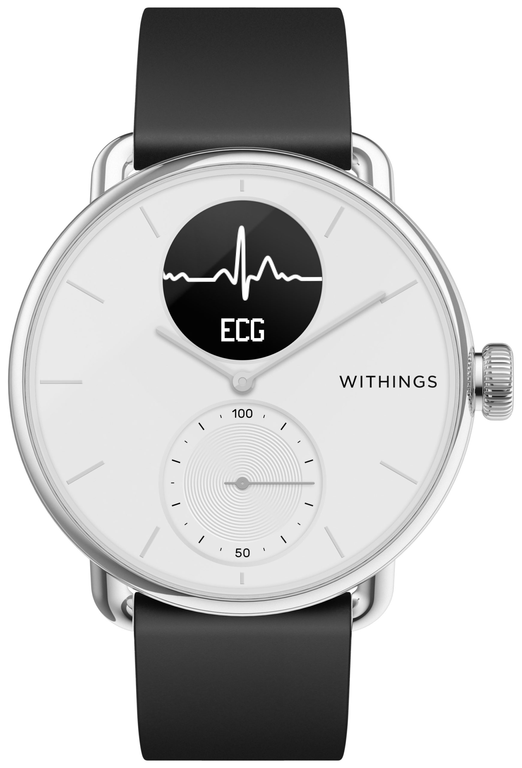 Withings ScanWatch HWA09 (Weiß, 38mm)