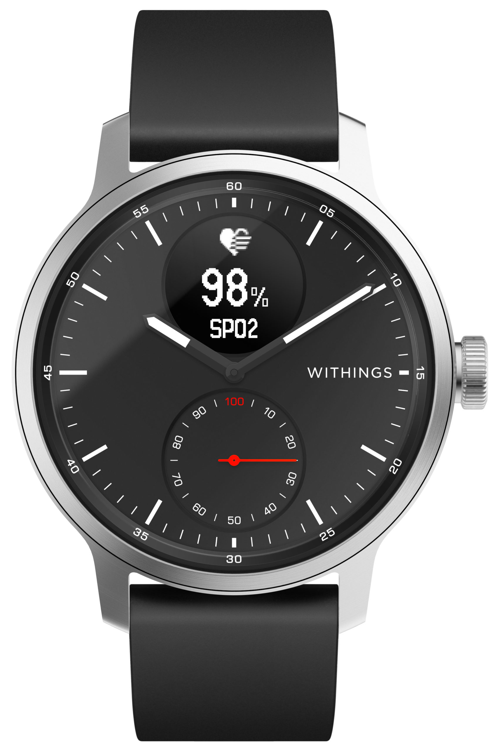 Withings ScanWatch HWA09 (Schwarz, 42mm)