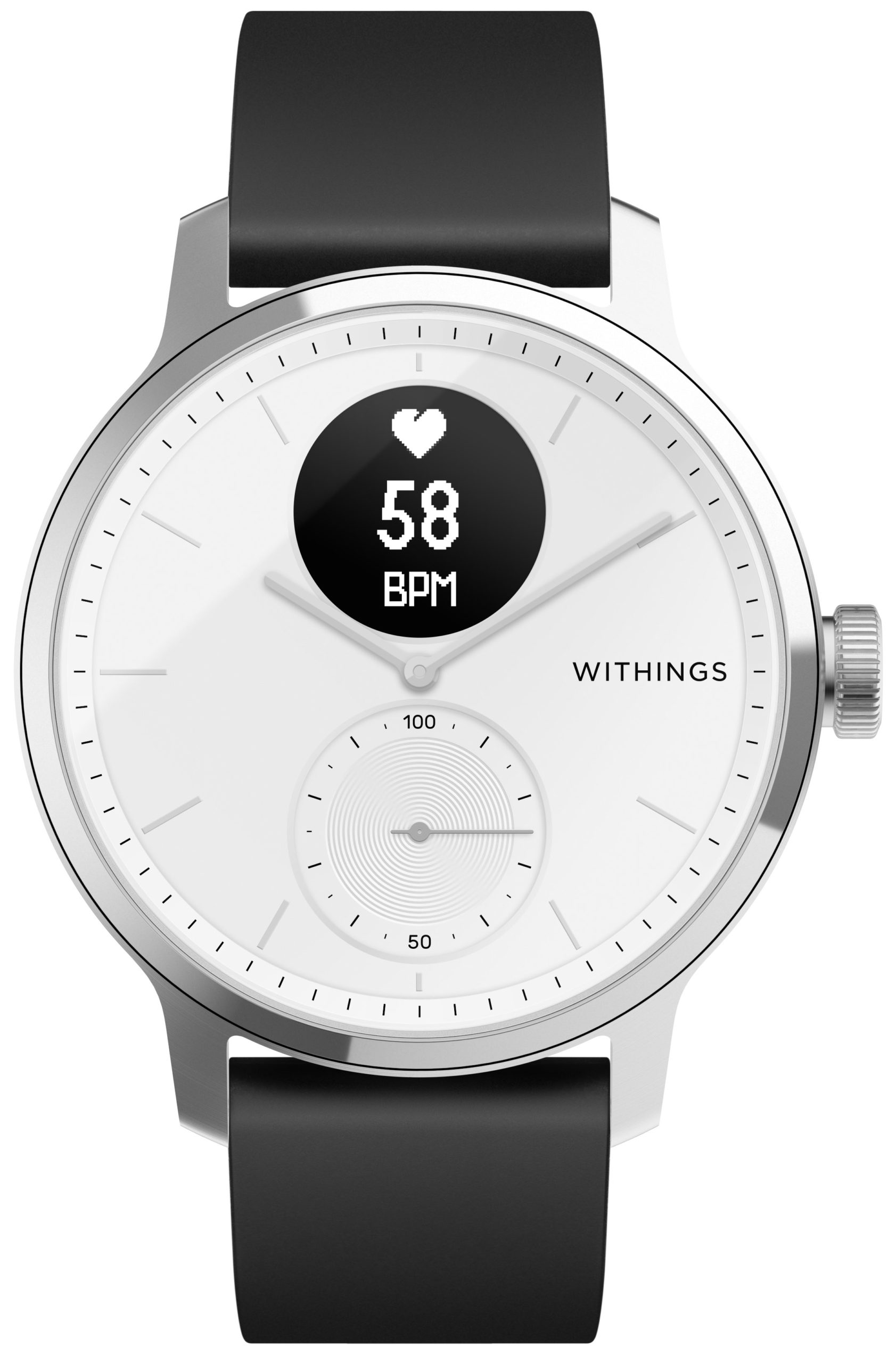 Withings ScanWatch HWA09 (Weiß, 42mm)
